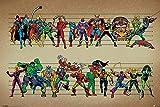 empireposter - Marvel - Line Up - Größe (cm), ca. 91,5x61 - Poster, NEU -