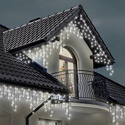 icicle lights 1000 led bright white indoor outdoor christmas lights fairy lights 31 m