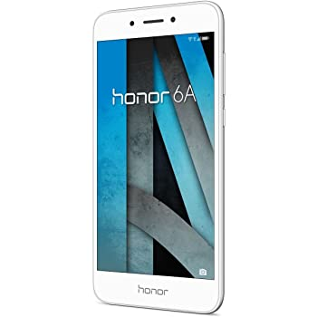 Honor 6A Smartphone, Dual SIM, Memoria Interna da 16 GB, Argento