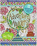 Adventure Awaits! Gold Foiled Coloring Book (Studio)