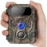 Victure Camara de Caza con Detector de Movimiento Nocturna 16MP Fototrampeo 1080P Full HD Infrared No Glow IP66 Camara Imperm