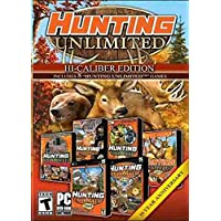 8 NEW PC Hunting Unlimited: Hi-Calibur Edition - 1, 2, 3, 4 + 2008-2011 (8 Games)