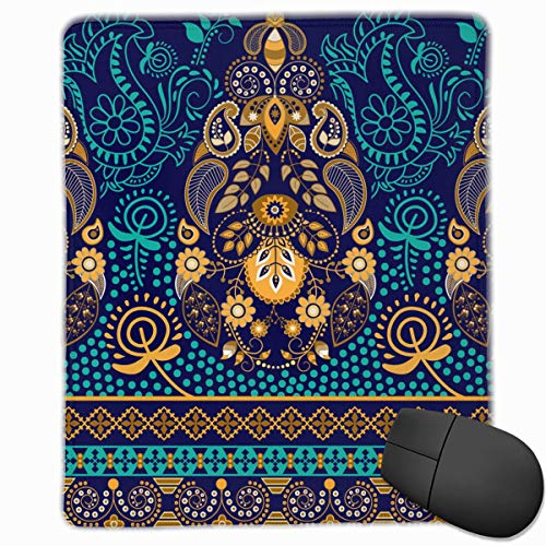 Mouse Pad Paisley Wallpaper Non-Slip Rubber Gaming Mouse Pad Mat 9.8 X 11.8 X 0.1 Inchs -