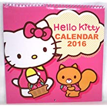 Calendario de pared 2016Hello Kitty Sanrio Plan L-Size