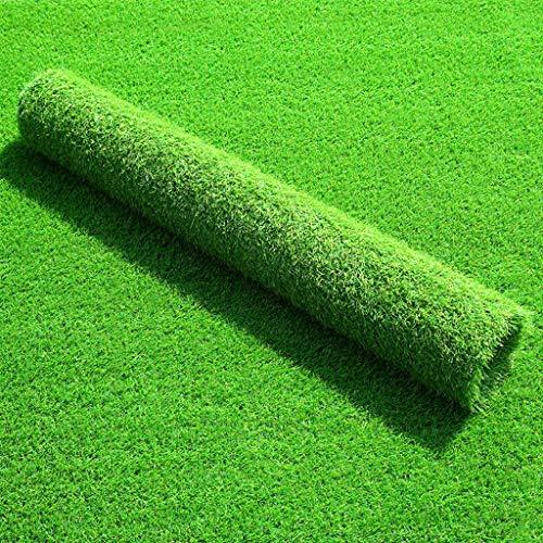 YUER Premium-Kunstrasen aus synthetischem Gras, 30 mm Florhöhe, künstlicher Kunstrasen mit hoher Dichte, natürlich und realistisch aussehender Garten, Haustierhund, Rasen (2 x 5 m)