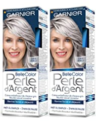 garnier belle color perle dargent crme djaunisseur clat cheveux gris gris - Coloration Gris Argent
