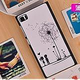 Prevoa ® 丨Xiaomi MI 3 Mi3 M3 Funda - Colorful Hard Plastic Funda Cover Case para Xiaomi MI 3 Mi3 M3 5,0 Pulgadas Android Smartphone - 14