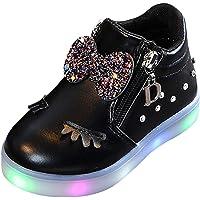 Ronamick Crystal Bowknot - Scarpine primi passi con luci a LED
