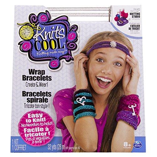 Spin Master 6025047 - Knits Cool - Wrap Bracelets