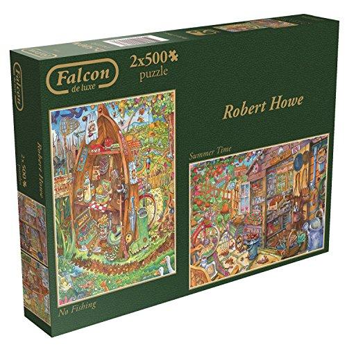 JUMBO FALCON DE LUJO ROBERT HOWE ROMPECABEZAS (2 X 500 PIEZAS)