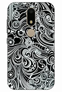 WOODPECKER PRINTS PRINTED SOFT BACK COVER FOR MOTO M