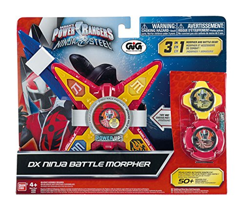 Power Ranger Ninja Steel, Ninja Battle Morpher mit 2Sternen Ninja ()