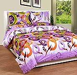 Soni Traders Purple Rangoli Design Pure ...
