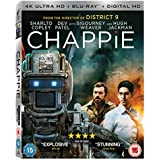 Chappie [Blu-ray] [2015] UK-Import, Sprache-Englisch.