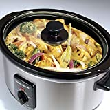 from Morphy Richards Morphy Richards 48709 Slow Cooker, 3.5 Litre, Brushed Steel