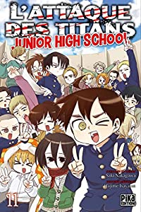 L'Attaque des Titans - Junior High School Edition simple Tome 11