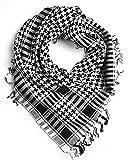 #3: Sri Belha Fashions Unisex Desert Style checkered Kafiyah Arab Shemagh Arafat Scarves tiger zinda hai scarves