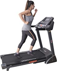 Cardio Max JSB HF76 2HP (4HP Peak) Fitness Motorized Treadmill Foldable with Slimming Massage Belt & Lubricating Oil
