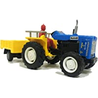 Jack Royal Plastic Tractor with Trolley