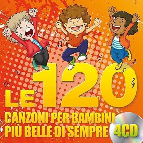 Le 120 Canzoni per Bambini più Belle di Sempre (4 CD)