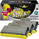 Yellow Yeti TN2120 TN2110 (2.600 Seiten) 3 Premium Toner kompatibel für Brother HL-2140 HL-2150 HL-2170 MFC-7320 MFC-7340 MFC-7440 MFC-7840 DCP-7030 DCP-7040 DCP-7045 [3 Jahre Garantie]