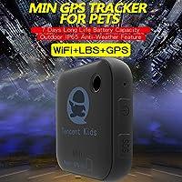 Tencent Kids GPS-Verfolger-Verzeichnis 500mAh GSM / WIFI / GPRS / GPS für Kind, älteres, Haustier, Auto, Gepäck Realzeit-Fahrzeug-Sicherheits-Warnung, mit IOS, Android APP [freie Servicegebühr]