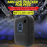 Tencent - Localizador para niños con rastreador GPS para niños, ancianos, mascotas, perros, coches...