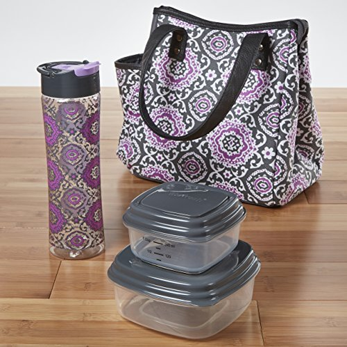 fit-fresh-westerly-insulated-lunch-bag-kit-with-reusable-container-set-and-matching-water-bottle-by-
