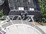 Hunde Katzen Fahrradkorb Weide Rattan Schutzgitter Gepäckträger hinten Gitter - 2