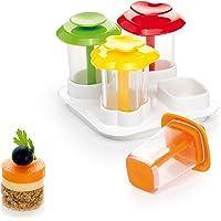 Tescoma Presto foodstyle Forme Scivaro A Couches Presto 4 Formes, Plastique, Multicolre, 10,5 x 7,5 x 15 cm