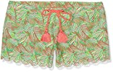 Cabana Life Damen Bikini Hose Palm Breeze, grün, 40, 442-PB6