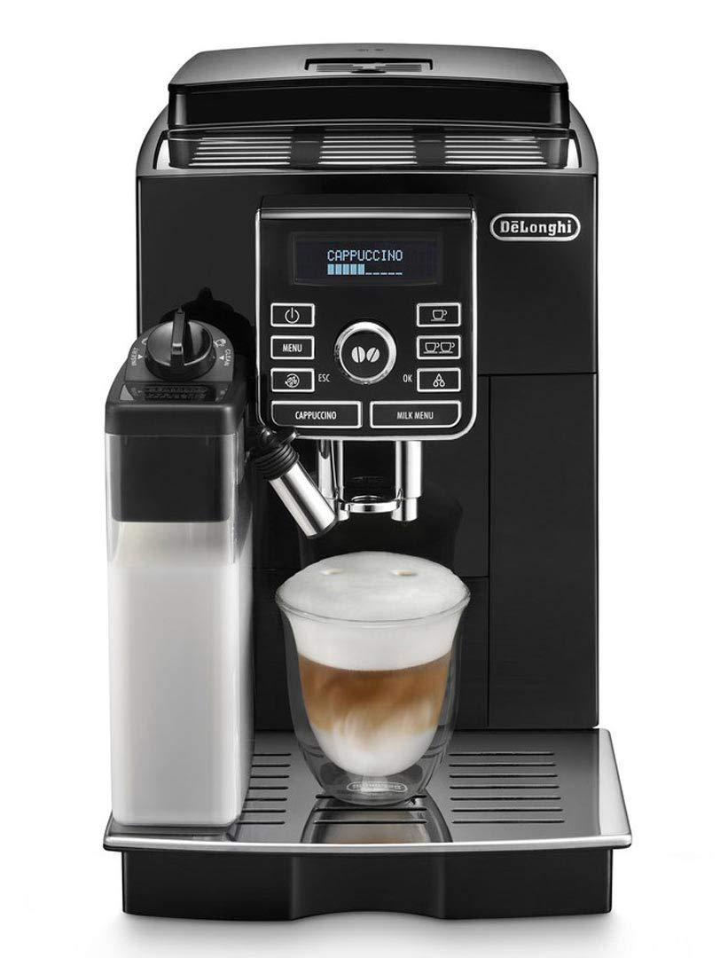 61UQAQ7r4XL - De'Longhi Fully Automatic Bean to Cup Coffee Machine ECAM25.462.B, 220 W