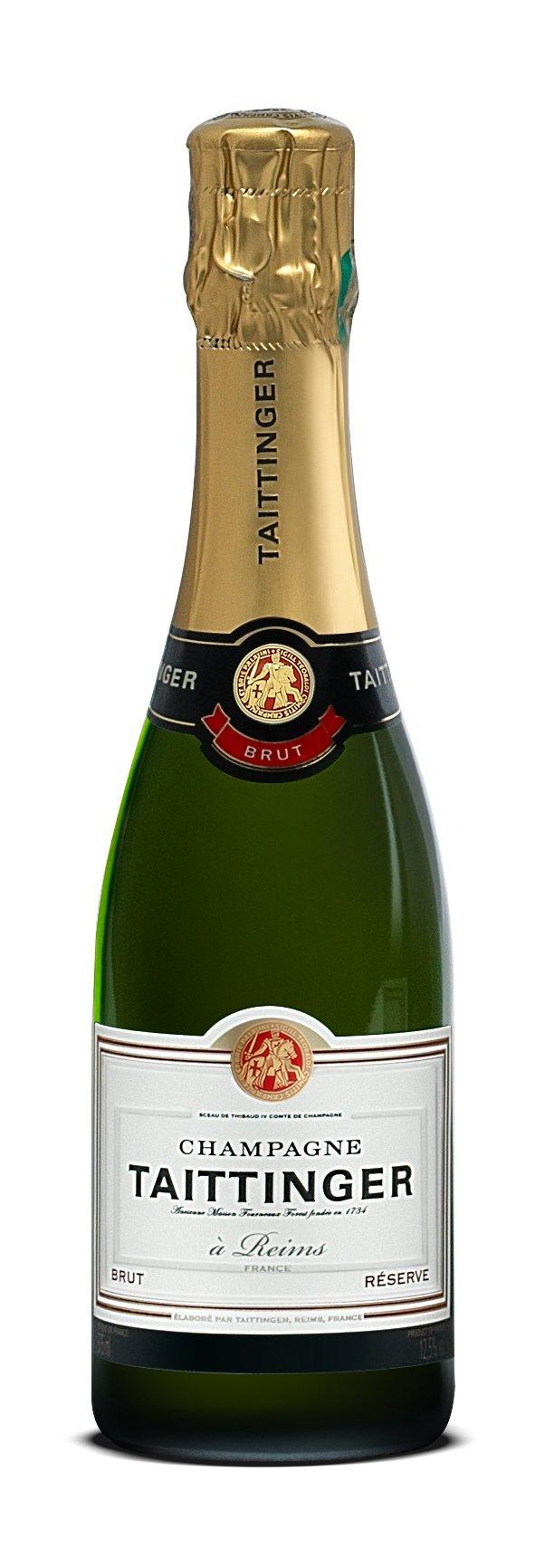 Taittinger Brut Reserve Non Vintage Champagne, 37.5 cl