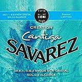 Savarez Creation Cantiga 510MJ Jeu de Cordes pour Guitare classique