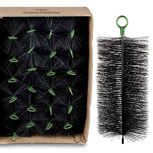 Wagner GREEN 24 Stück Filterbürsten, für Ihren Teichfilter und Koi Teich Filter (30x15 cm)