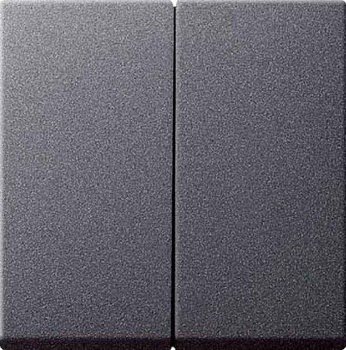 Preisvergleich Produktbild Gira 026628 Serienwippen mit Set IP44 System 55, anthrazit