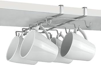 Metaltex MyMug Schrankeinsatz Tassenhalter/Becherhalter für 10 Tassen, Polytherm