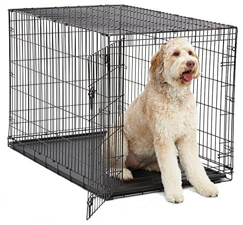 Artikelbild: Midwest Homes for Pets MidWest 1548 iCrate-Hundekäfig mit Einzelklappe (121,92x76,2x83,82cm)