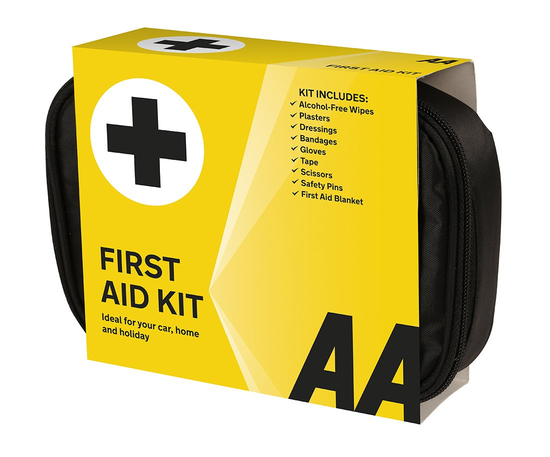 AA Standard First Aid Kit - AA0095 - Family Essential For Car Home Holidays Travel Camping Caravans Office 1