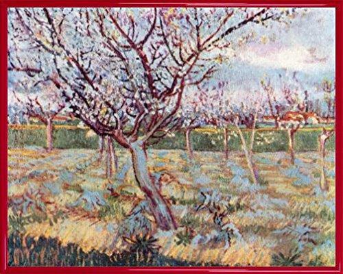vincent-van-gogh-poster-impresion-artistica-con-marco-plastico-florecimiento-de-arboles-1888-50-x-40