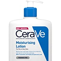 CeraVe Moisturising Lotion | 1L| Daily Face & Body Moisturiser for Dry to Very Dry Skin