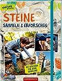 Steine sammeln und erforschen: Mit Stickern für deine Sammlung (Nature Zoom)