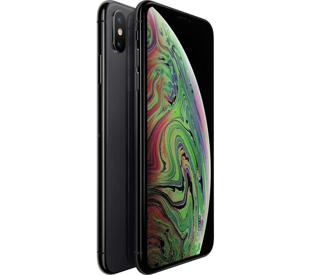 Apple iPhone XS Max Smartphone débloqué 4G (Ecran : 6,5 Pouces – 256 Go – Nano-SIM – iOS) Gris Sidéral