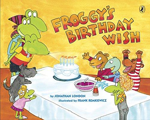 Froggy's Birthday Wish (English Edition)