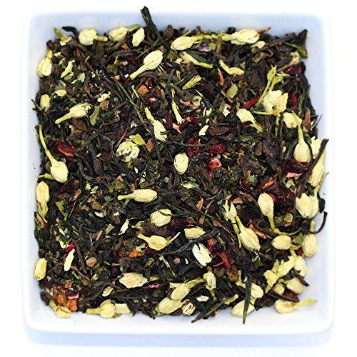 Tealyra - Fat Burner - Wellness Weight Loss Tea Blend - Pu Erh Aged with Sencha Green Tea and Wu-Yi Oolong - Diet Refreshing - Natural Ingredients - Healthy - Detox Loose Leaf Tea - 100g