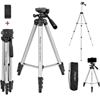 Photron Stedy 420 Tripod 50 Inch with Mobile Holder for Smart Phone, Camera, Mobile Phone   Extends to 1240mm (4 Feet…