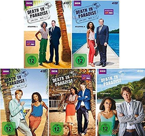 Preisvergleich Produktbild Death in Paradise - Staffel 1-5 im Set - Deutsche Originalware [20 DVDs]