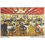 Mary Evans / Jazz Age Club Collection – The American Bar And Grill At The Eden Hotel Berlin Artistica di Stampa (91,44 x 60,96 cm)