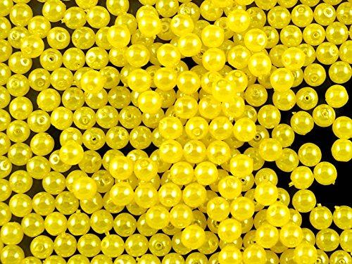 100stk-tschechische-glasperlen-mit-einem-pearl-beschichtung-estrela-runde-4mm-yellow-pastel