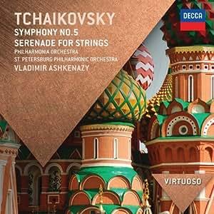 Tchaikovsky: Symphony No.5; Serenade for Strings (Virtuoso series)